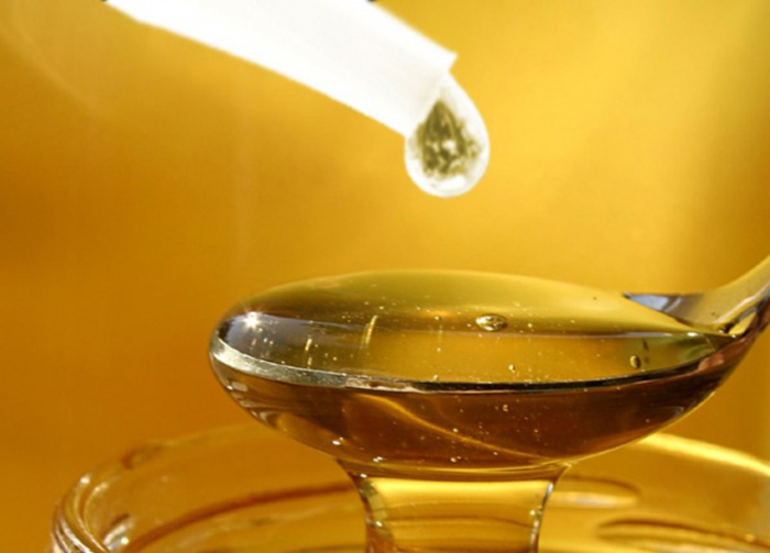 Ложка меда с эфирным маслом